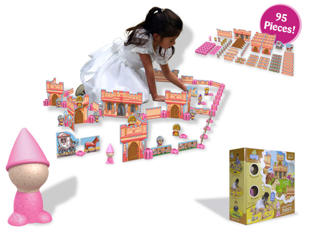 Sprig Toys Princess Story Building Set